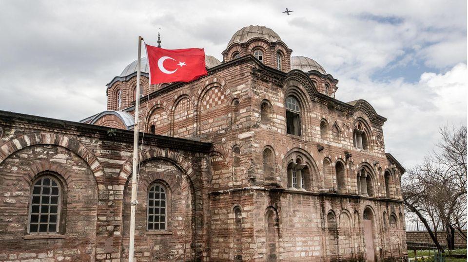 Das Kariye Museum bzw. die Chora-Kirche in Yenikapi, Istanbul