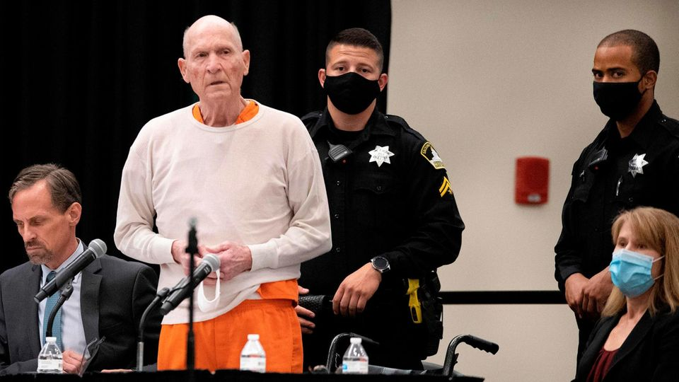 Joseph James DeAngelo wird den Rest seines Lebens hinter Gittern verbringen
