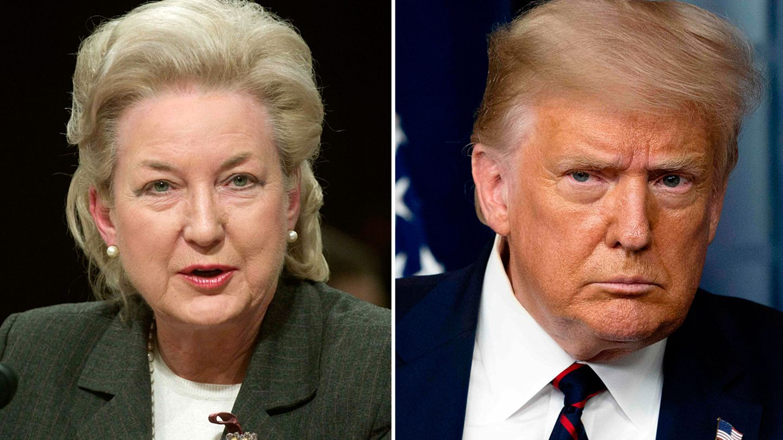 Maryanne Trump Barry ist die älteste Schwester von Donald Trump