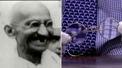 Gandhis Brille erzielt Rekordpreis