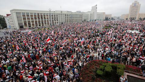 Proteste Minsk