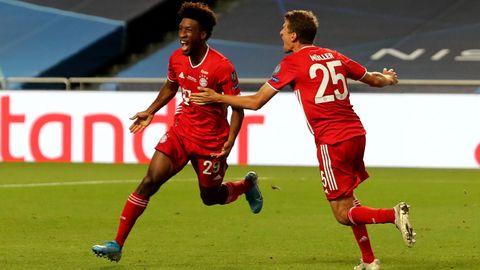 Coman mit 1:0 gegen PSG