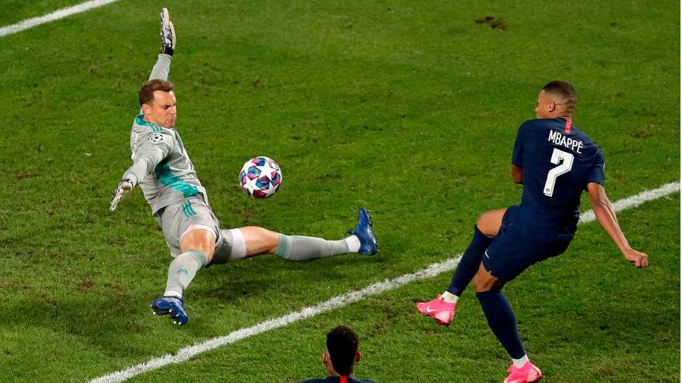 Torhüter Manuel Neuer beim Champions-League-Finale