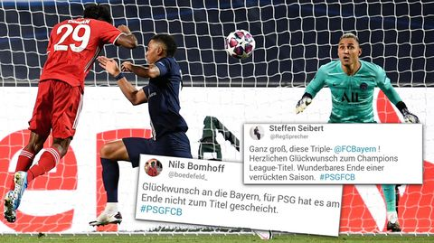 """""""Verdienter war ein Titel selten"""" – Twitter-User feiern das Bayern-Triple"""