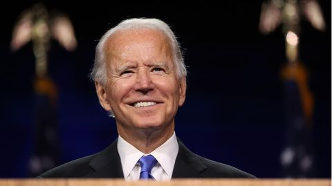 Joe Biden, Präsidentschaftskandidat der US-Demokraten bei der US-Wahl 2020