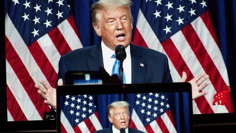 Donald Trump, Präsident der USA,