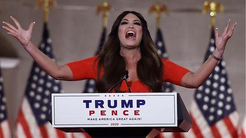 Kimberly Guilfoyle hielt eine innbrünstige Rede für Donald Trump