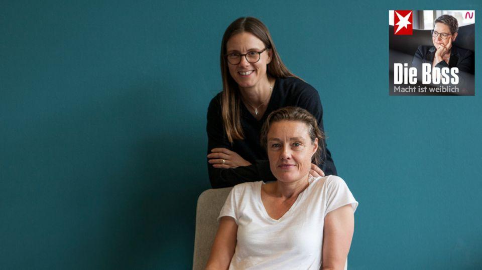 Powerpaar Katja Kraus und Katrin Suder