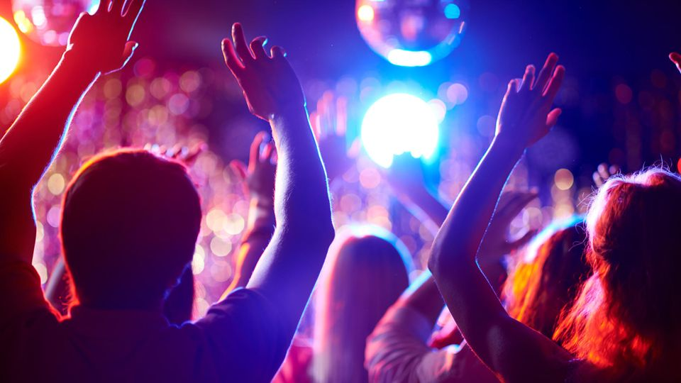 Party in einem Nachtclub