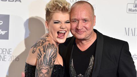 Melanie Müller und ihre Mann Mike Blümer