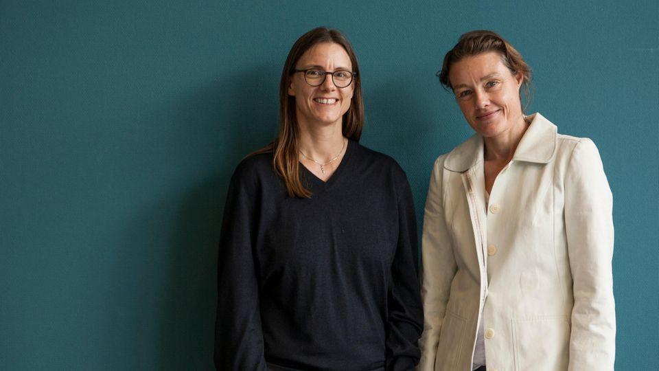 Katrin Suder (links) und Katja Kraus (rechts)