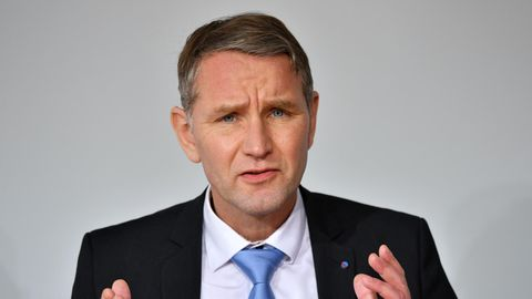 Der thüringische AfD-Chef Björn Höcke