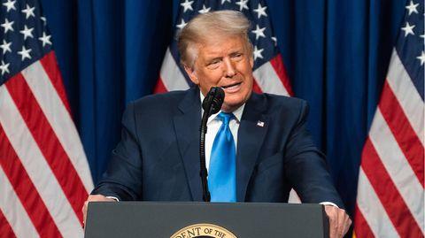 US-Präsident Donald Trump auf dem Parteitag der Republikaner