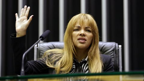 Die brasilianische Abgeordnete Flordelis dos Santos