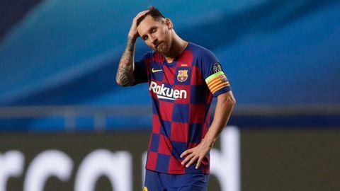 Lionel Messi will den FC Barcelona nach 20 Jahren verlassen