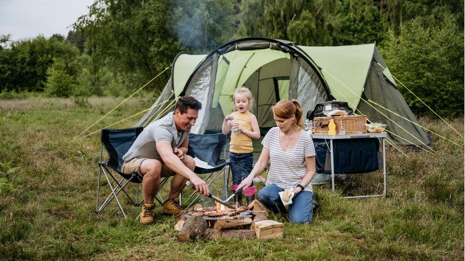 Camping mit Kindern wird immer beliebter