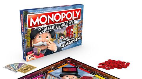 Monopoly für schlechte Verlierer ist eine neue Version des Spieleklassikers