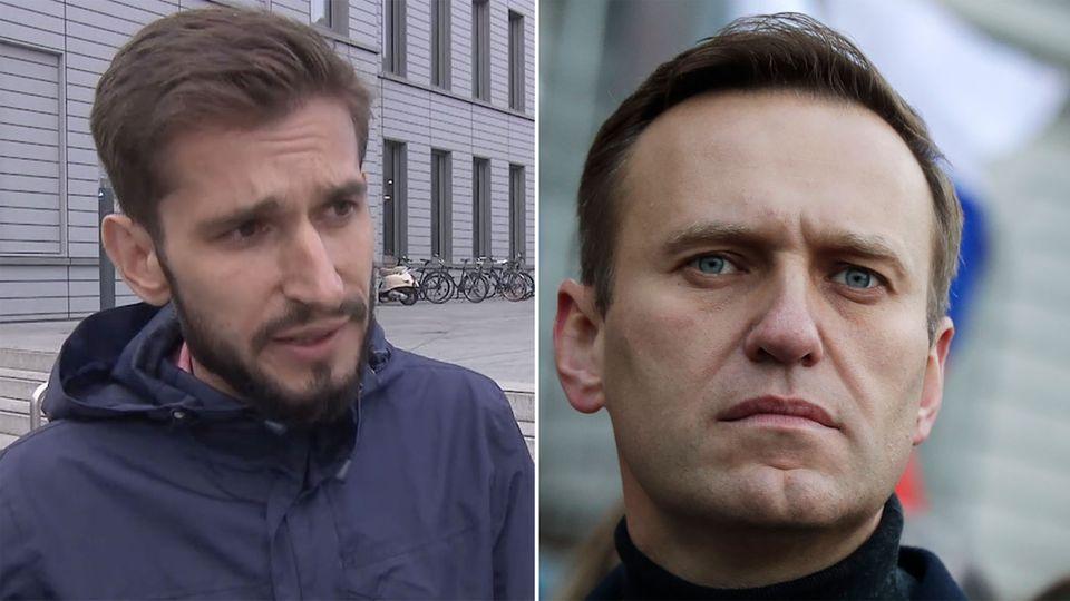 """Journalist Konstantin Goldenzweig: """"Der Fall Nawalny existiert in Russland nicht"""""""