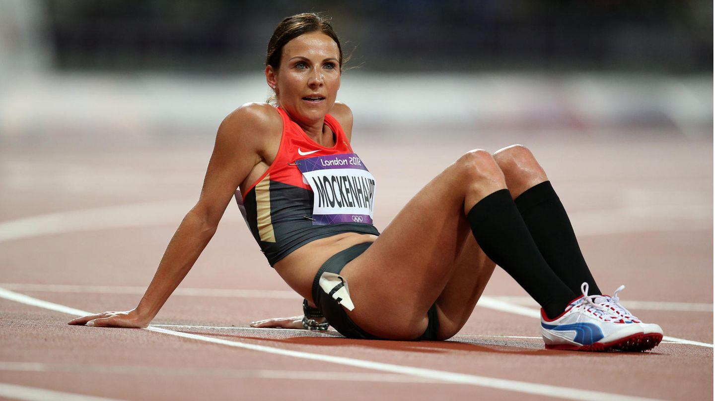 Sabrina Mockenhaupt 2012 bei den Olympischen Spielen in London