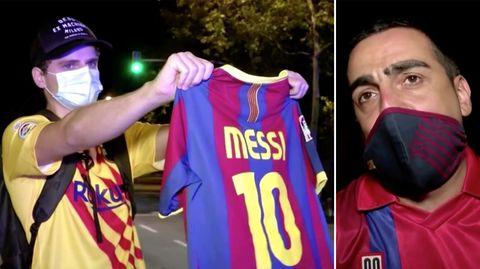 FC Barcelona: Spontan-Demo für Messi – Enttäuschung bei Fans riesig