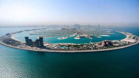 """The Palm Jumeirah"""
