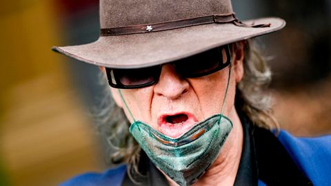 """Udo Lindenberg kritisiert Maskenverweigerer: """"Hirntote Risikopiloten"""""""