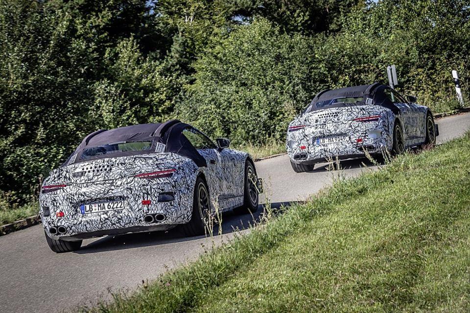 Erprobung Mercedes SL 2021