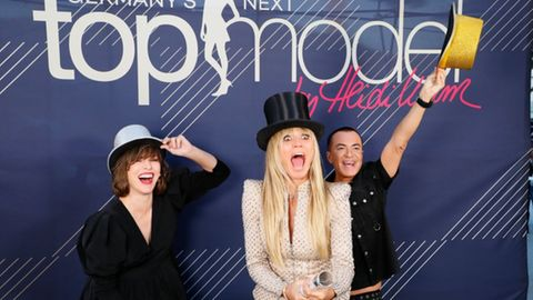"Heidi Klum bei ""Germany's next Topmodel"""