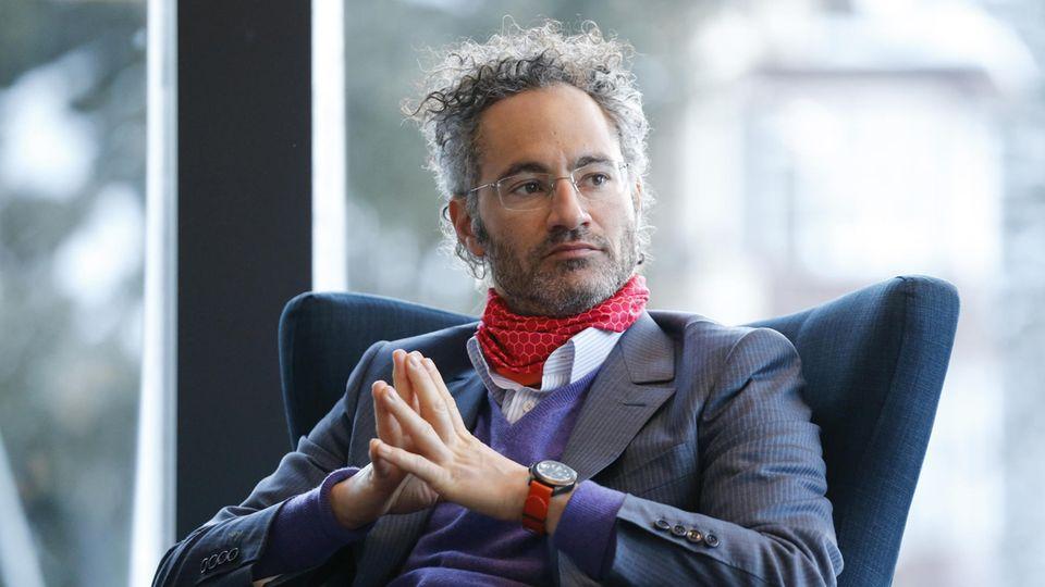 Palantir-CEO Alex Karp hat mit dem Silicon Valley ein Hühnchen zu rupfen