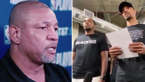 Boykott nach Polizeigewalt: Die Show geht nicht weiter: Die NBA-Stars zeigen, dass manche Dinge wichtiger sind als Sport