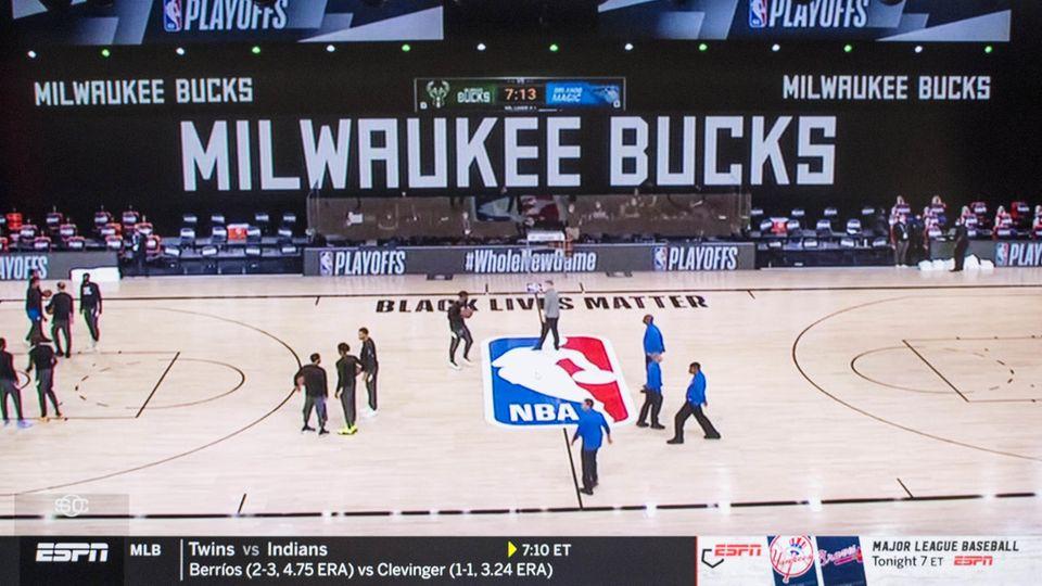 Das NBA-Spiel der Milwaukee Bucks gegen die Orlando Magic