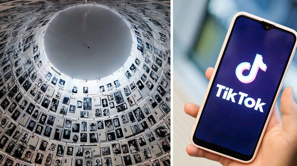 Holocaust-Verharmlosung: Gedenkstätte kritisiert Tiktok-Challenge