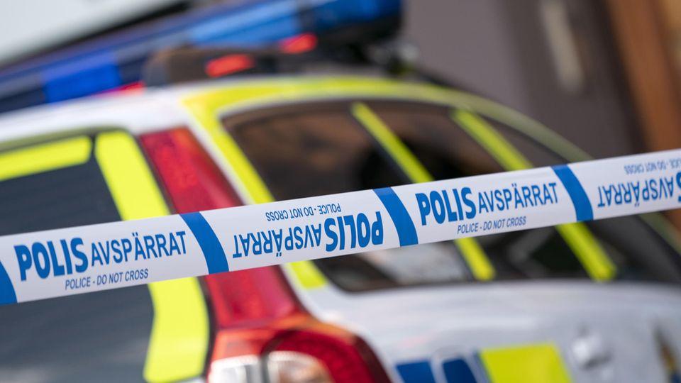 Gewalttat in Solna, Schweden