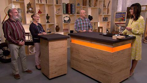 Bares für Rares: Verkäufer, Horst Lichter und Heide Rezepa-Zabel