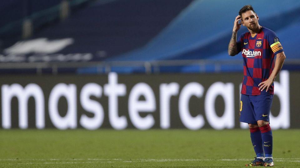 Lionel Messi möchte den FC Barcelona ablösefrei verlassen