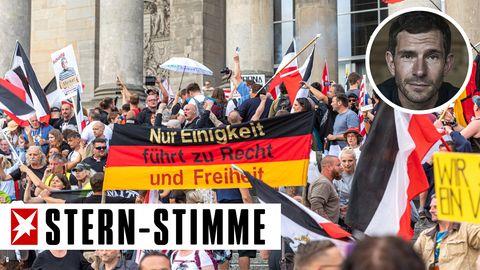 Micky Beisenherz über Demo vor dem Reichstag