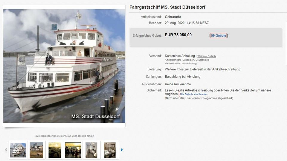 Ebay MS Stadt Düsseldorf