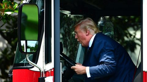Donald Trump Lkw Wisconsin