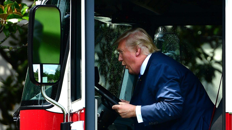 Donald Trump Lkw Wisconsin