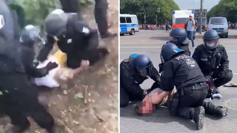 Falschnachrichten nach Berliner Corona-Demo