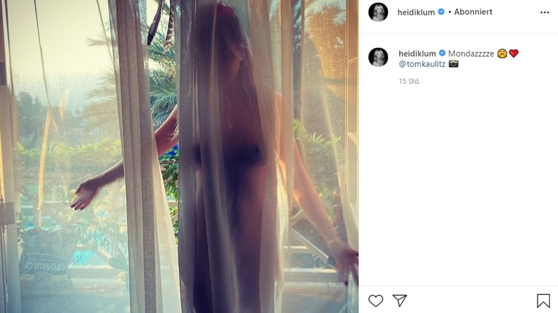 Vip-News: Heidi Klum posiert nackt für Tom Kaulitz