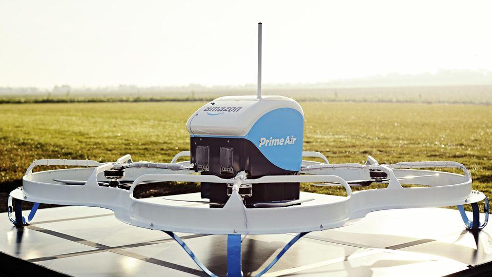 Amazon will Liefer-Drohnen in den USA testen