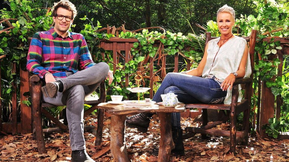 Dschungelcamp Daniel Hartwich und Sonja Zietlow