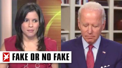 Faktencheck: Schläft Joe Biden im TV-Interview?