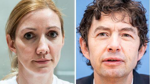 Sandra Ciesek und Christian Drosten