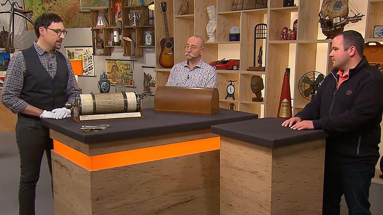 Bares für Rares: Colmar Schulte-Goltz, Horst Lichter, Verkäufer