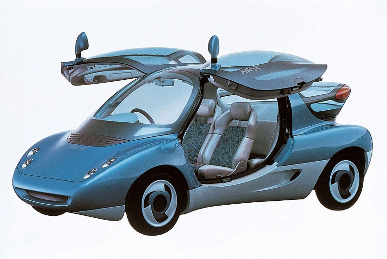 Das Mazda HR X Concept ist ein Wasserstoffauto, das auf der Tokyo Motor Show 1991 präsentiert wurde