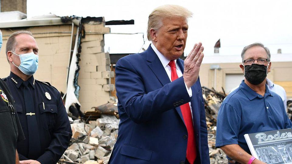 Donald Trump in Kenosha