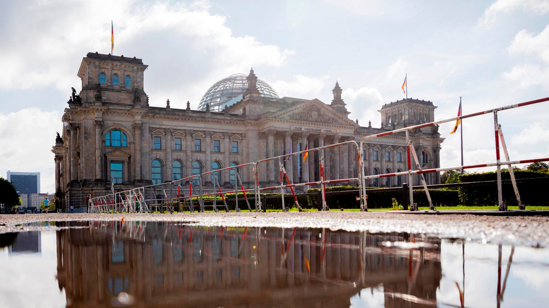 Graben Bundestag