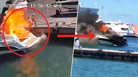 Italien: Yacht explodiert nach Tankvorgang
